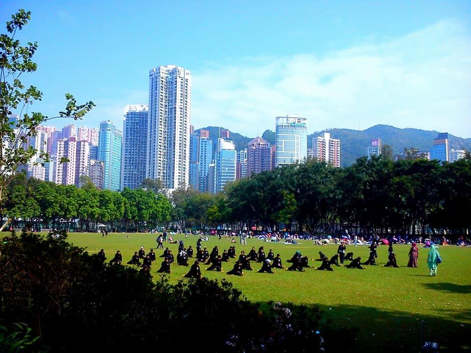 Zdjęcia: Victoria Park, Hongkong, Niedziela w Hongkongu, HONG KONG