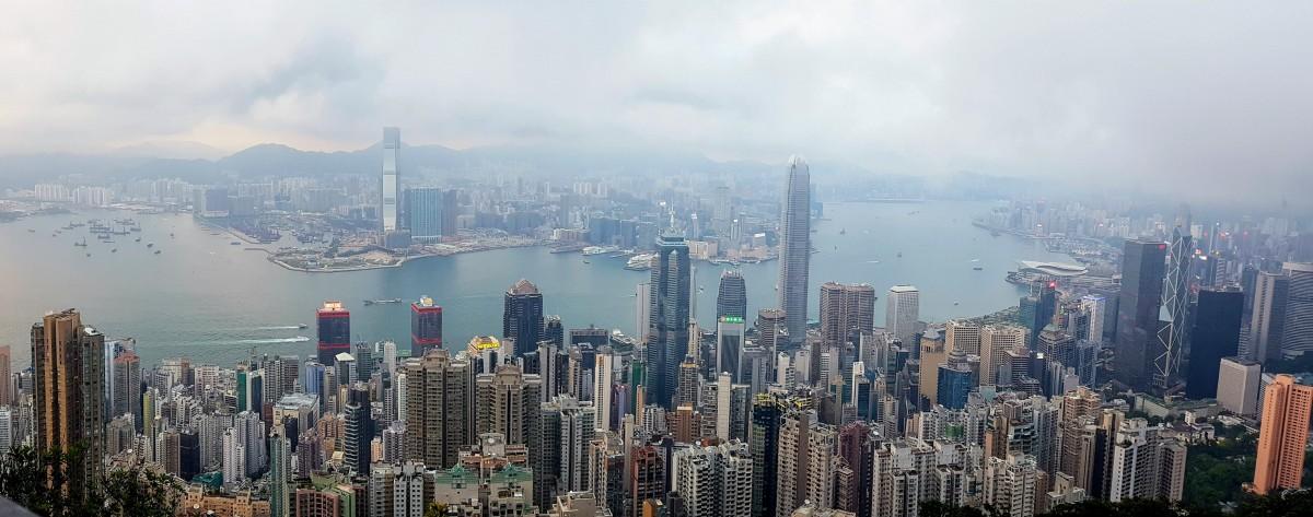 Zdjęcia: Hong Kong, Widok ze Wzgórza Wiktorii, HONG KONG