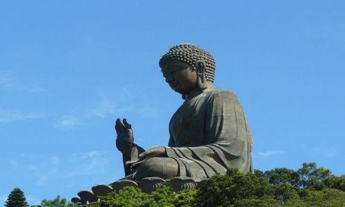 Zdjecie HONG KONG / - / Lantau / Siedz�cy Budda