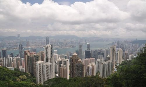 Zdjęcie HONG KONG / Hong Kong / Gora Victoria / Panorama