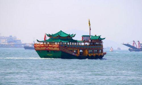 HONG KONG / Hong Kong / Hong Hong / statek