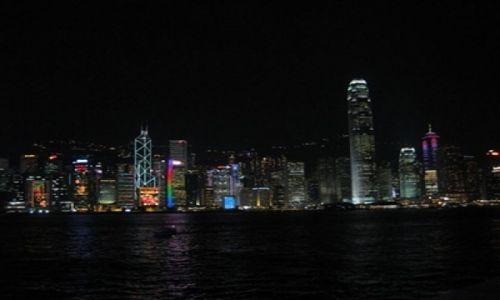 Zdjecie HONG KONG / Hong Kong / Hong Kong / KONKURS - Hong Kong nocą