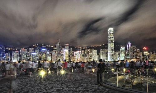 Zdjecie HONG KONG / - / Kowloon / by nite