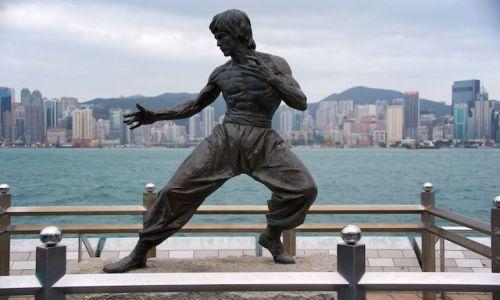 Zdjęcie HONG KONG / - / Hong Kong / Bruce Lee w Hong Kong'u