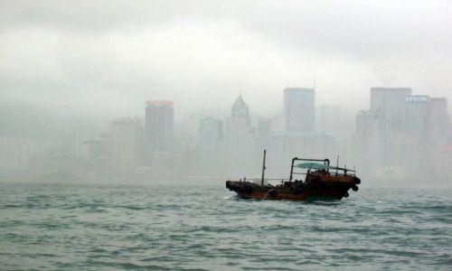 Zdjecie HONG KONG /   /   / Hong Kong we mgle