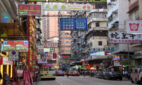 Zdjęcie HONG KONG / Hong Kong / Hong Kong island / Streets of HK