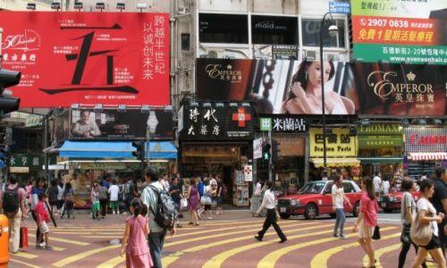 Zdjecie HONG KONG / HK / HK / streets of HK 2