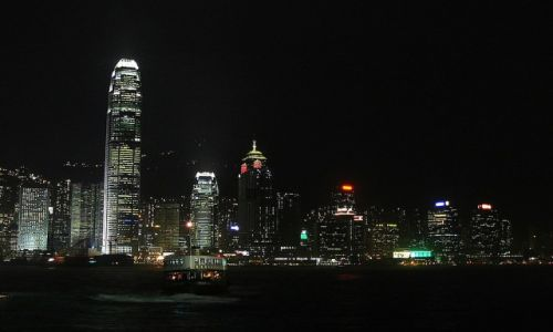 Zdjęcie HONG KONG / Hong Kong /   / Miasto które nigdy nie śpi