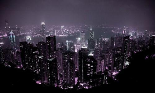 Zdjęcie HONG KONG / - / Hongkong / pikowanie ze Wzgórza Wiktorii