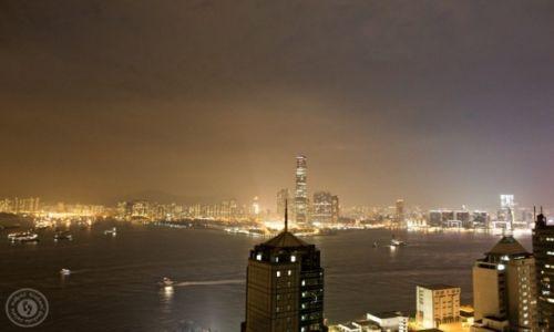 Zdjęcie HONG KONG / Azja / Kawloon / Hong Kong na kacu