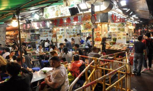 Zdjęcie HONG KONG / - / Hong Kond / Street Food