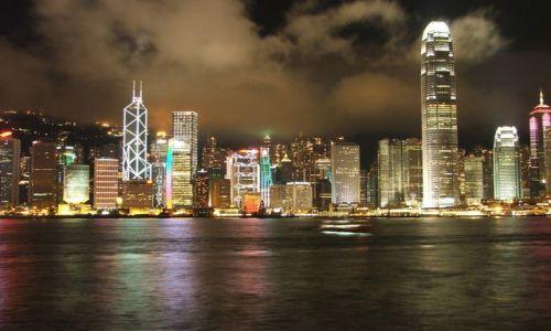 Zdjecie HONG KONG / brak / Widok na wyspę Hongkong / Widok na Centra