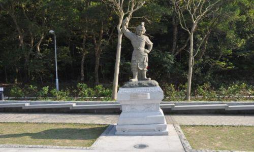 Zdjęcie HONG KONG / Hong Kong / Wyspa Lantau / U podnóża wielkiego Buddy