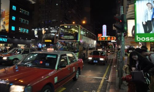 Zdjęcie HONG KONG / Hong Kong / Dzielnica Mongkok / Najbardziej zaludnione miejsce na świecie