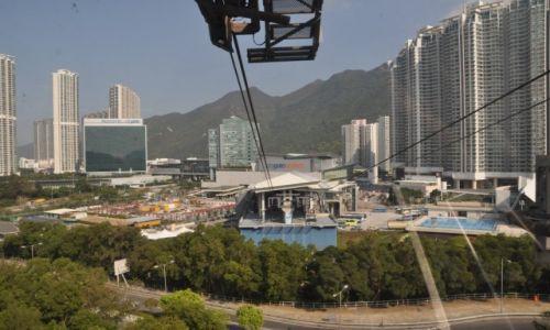 Zdjęcie HONG KONG / Hong Kong / Wyspa Lantau / Kolejka na wyspie Lantau