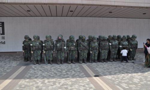 Zdjęcie HONG KONG / Hong Kong / Centrum / Hong Kong Muzeum Sztuki - Armia