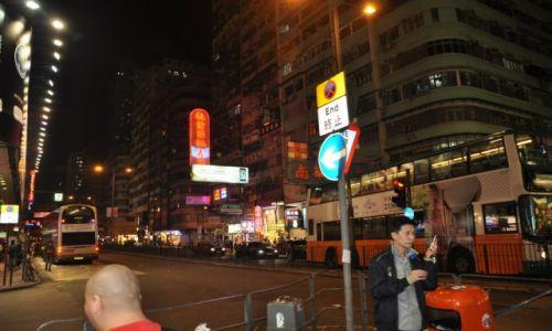 Zdjęcie HONG KONG / Hong Kong / Dzielnica Mongkok / Hong Kong by nigth