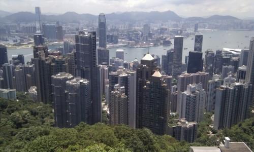 Zdjecie HONG KONG / - / Victoria Peak / .