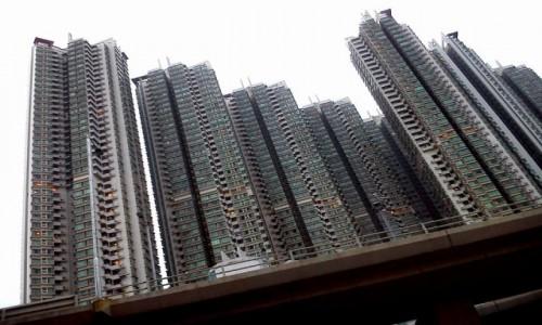 Zdjecie HONG KONG / Koulun / Hongkong / Wieżowce Hongkongu