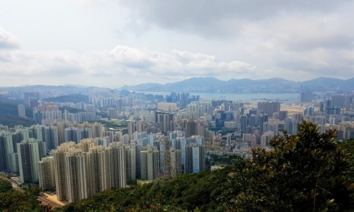 Zdjecie HONG KONG / - / Hong Kong / W drodze na Lion Rock