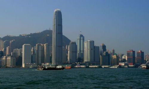 HONG KONG / brak / Widok z Kowloon / Wyspa Hong Kong