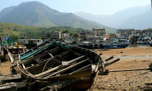 HONG KONG / brak / Wyspa Landau / Wioska rybacka