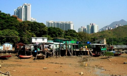 Zdjecie HONG KONG / brak / Wyspa Landau / Wioska rybacka_