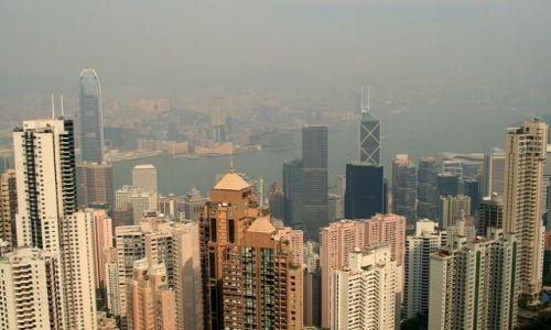 Zdjecie HONG KONG / brak / Widok z góry Wiktorii / Wyspa Hong Kong__