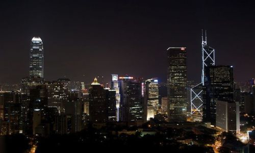Zdjecie HONG KONG / brak / HK  / night in HK