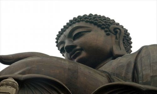 Zdjęcie HONG KONG / brak / Lantau / Posąg Buddy na Lantau