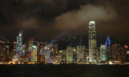 Zdjecie HONG KONG / brak / Hong Kong  / Gra świateł
