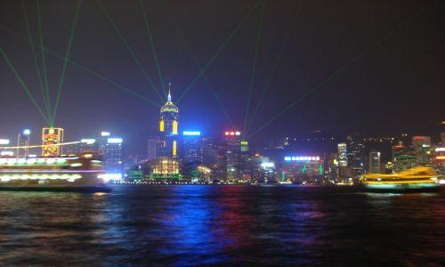 Zdjęcie HONG KONG / Hong Kong / Hong Kong / Symfonia swiatel