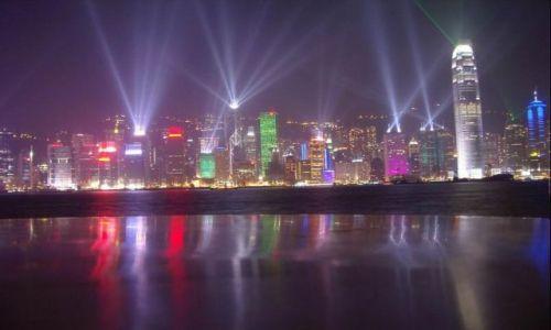 Zdjecie HONG KONG / Hongkong / Hongkong / Symfonia świateł
