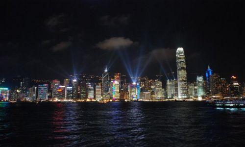 Zdjecie HONG KONG / Hong-Kong / Hong-Kong / Hong-Kong nocą