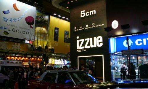 Zdjecie HONG KONG / Mongkok / ulica / Miasto nocą 1