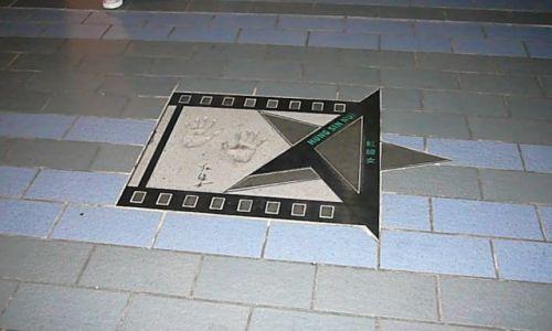 Zdjęcie HONG KONG / Koowlon / nadbrzeże / Dla gwiazd!!!!