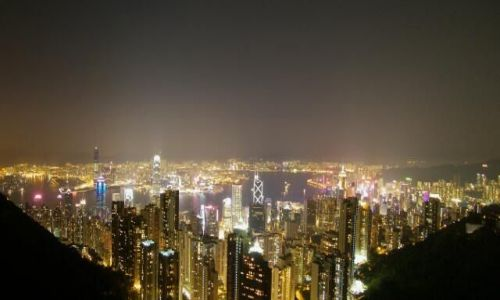Zdjecie HONG KONG / Hong Kong / góra Victorii / panorama