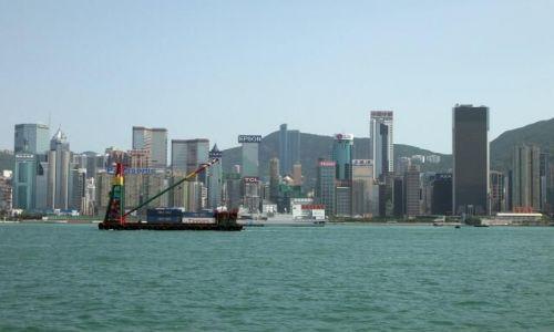 Zdjecie HONG KONG / Hong Kong / promenada gwiazd / downtown