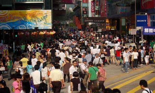 Zdjęcie HONG KONG / - / Hongkong / Mong Kok