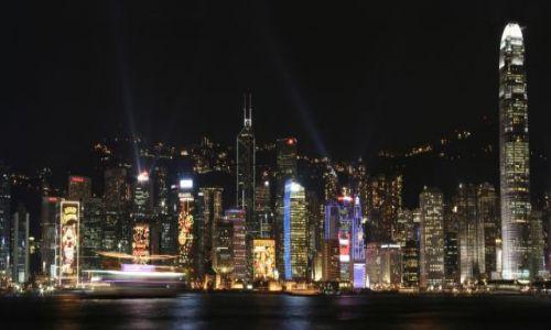 Zdjecie HONG KONG / Hong Kong / Hong Kong / Pokaz Świateł - Hong Kong