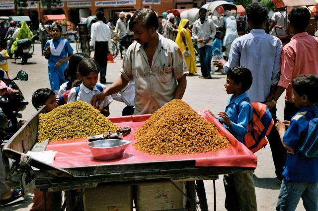 """Zdj�cia: Jaipur, """"�aj, �aj garam!"""", INDIE"""