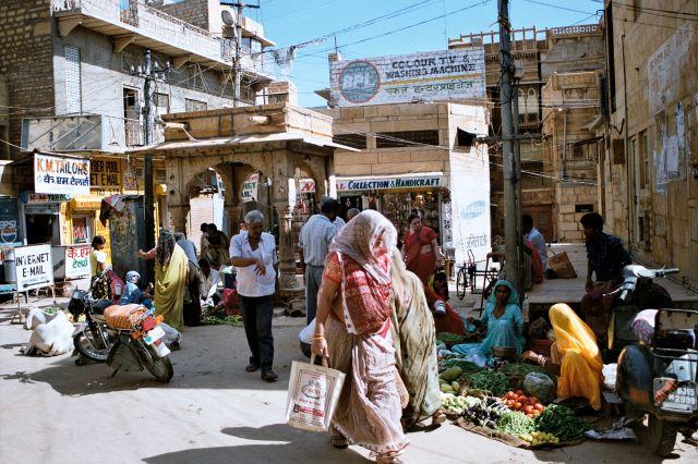"Zdj�cia: Jaisalmer, Rad�astan, ""�aj, �aj garam!"", INDIE"