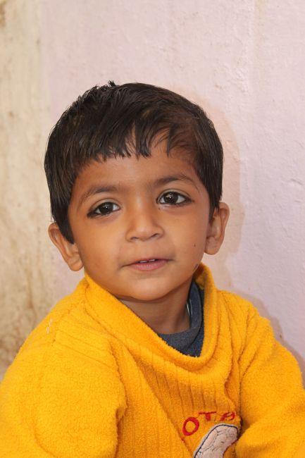 Zdjęcia: Jaisalmer, Rajasthan, Chłopczyk, INDIE