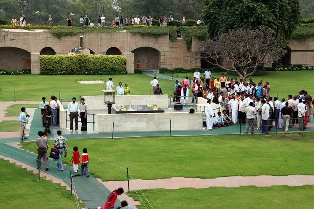 Zdjęcia: Dheli, Miejcce kremacji MahatmyGhandiiego, INDIE