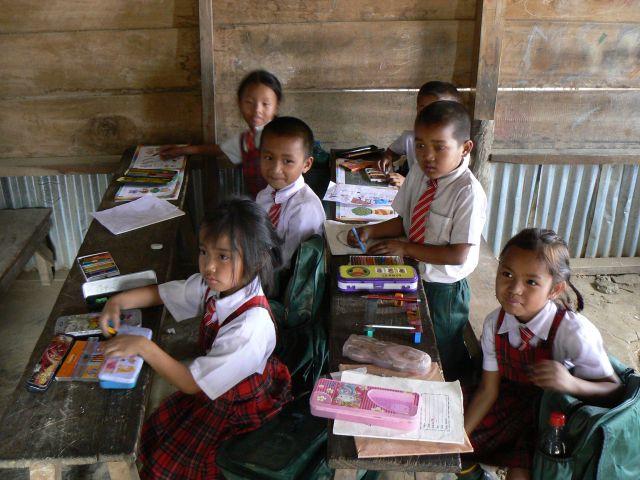 Zdjęcia: Mizoram, W pobliżu Aizawl, Szkoła, INDIE