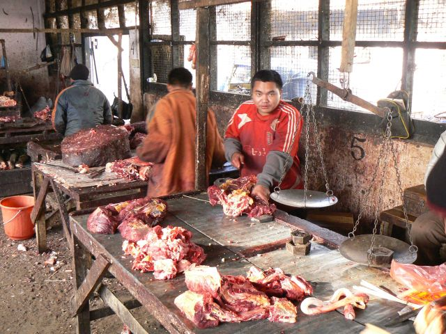 Zdjęcia: Chaurandchadpur, Manipur, Jatka mięsna, INDIE