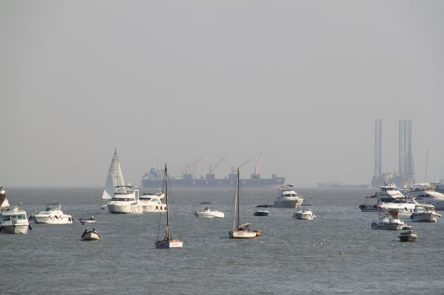 Zdjęcia: Bombaj, Maharasztra, zatoka, INDIE