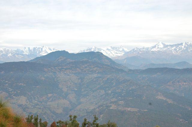 Zdjęcia: Kausani, Himalaje, Pasmo Nanda Devi, INDIE