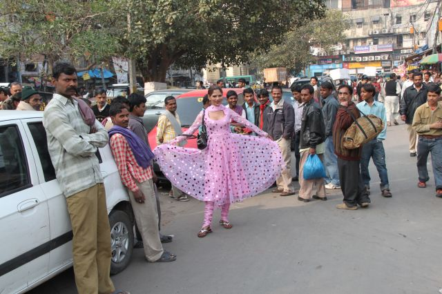 Zdj�cia: Old Delhi, Delhi, eunuch, INDIE