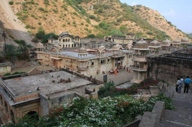 Zdjęcia: Jaipur, Rajasthan, Monkey Temple, INDIE